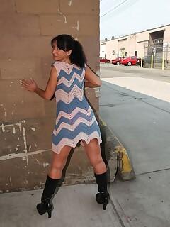 Public Stockings Pics