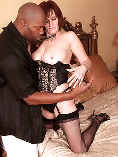Interracial Stockings Pics